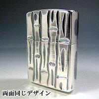 ZippoArmor(アーマー)『シルバー竹』