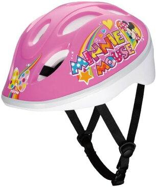 【自転車用ヘルメット】アイデス 子供用ヘルメット 「ミニーマウスPP」 ディズニー キッズヘルメットS【北海道・沖縄・離島地域 配送不可】