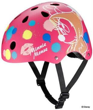 【自転車用ヘルメット】アイデス 子供用ヘルメット 「ディズニー ストリートヘルメット」 ミニーマウス