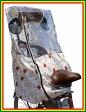 【リアシートカバー】エール 「スヌーピー」 リアレインカバー <SNOOPY HOUSE>(ヘッドレスト付後ろ子供のせ用 風防レインカバー ) 自転車用カバー