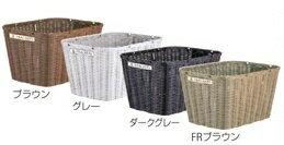 丸石サイクル前後共用超大型籐風樹脂カゴ(ふらっかーずシリーズ専用前後かご)