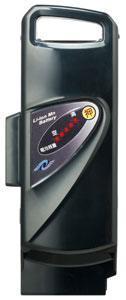 パナソニック電動自転車用 スペアバッテリー (NKY250B02→NKY452B02/NKY452B02B) 【2008年・2009年発売 RX-10S用】