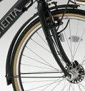 YAMAHA (ヤマハ) 電動自転車 PAS VIENTA5 (ヴィエンタ5)専用 フェンダー(ドロヨケ)前後セット (90793-55076)