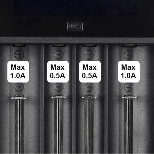XTAR VC4 液晶 18650x4本 リチウムイオン充電器 正規代理店