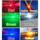 1608 0603 SMD チップLED 100x6色 600個赤黄青緑オレンジ白