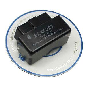 ELM327 黒 OBD2 Bluetooth Android ドングル
