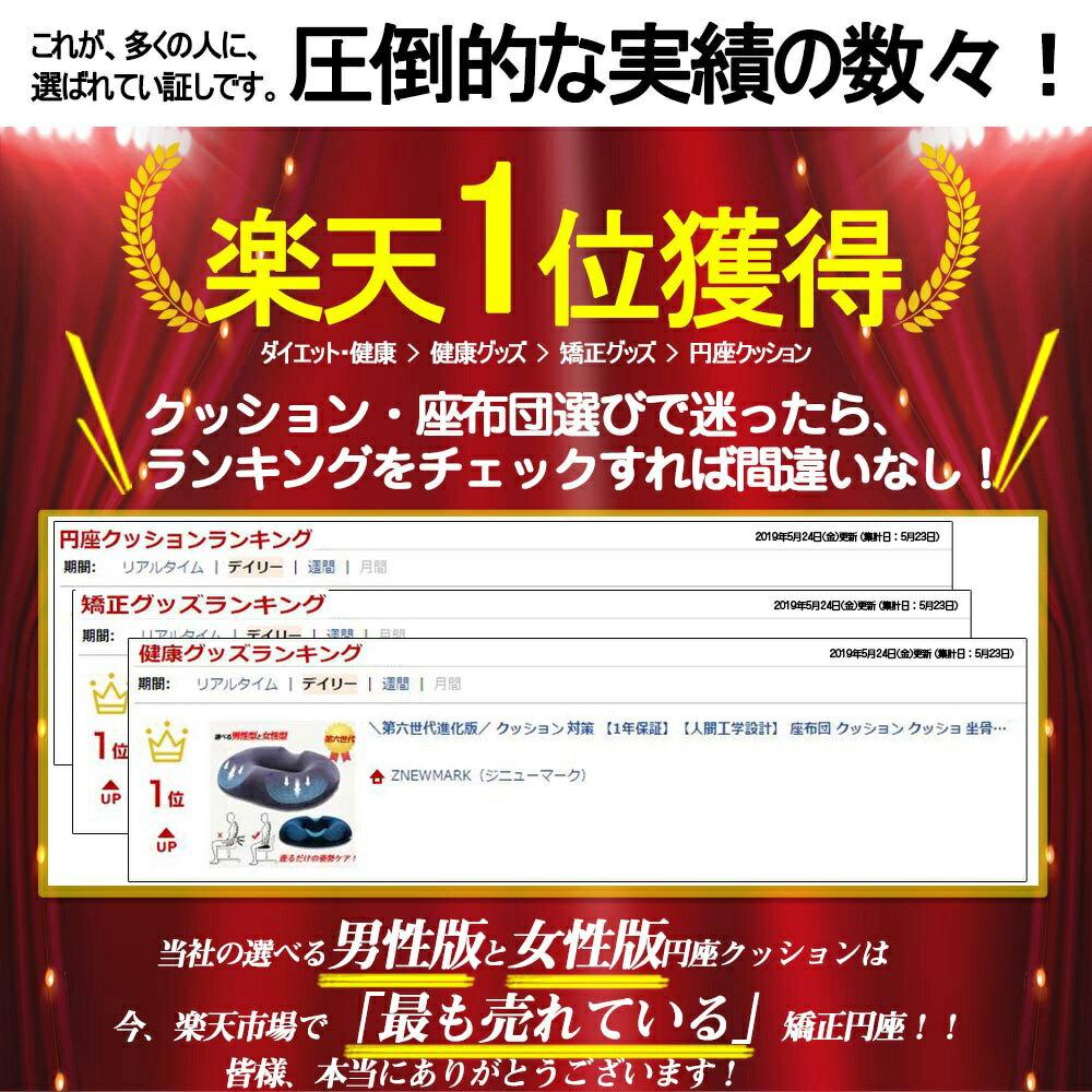 ZNEWMARK(ジニューマーク)『円座クッション』
