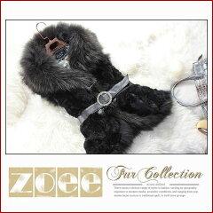 【zoeeの毛皮】2013-14年秋冬新作 ラクーンファー×ラビットファーベスト jp_vst13w002