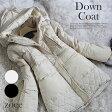 【送料無料】【複数割対象】【2016年新作】全2色 フード付きダウンコート ダウン80%とボア素材の暖かいダウンコート c303