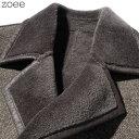 チェスターコート ウール メンズ 秋冬 アウター コート ダブルボタン 無地 羊毛 長袖 大きいサイズ ブラウン L/2L/3L/4L/5L 【佐】 f4g02 3