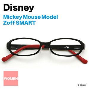 Zoff SMART ミッキーマウスモデル【Disney/ミッキー/Mickey Mouse/ゾフスマート/眼鏡/メガネ/めがね/シリコン/鼻パッド/Disneyzone】
