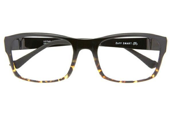 ウェリントン型メガネ Zoff SMART Regular (ゾフ・スマート・レギュラー) B-1A(ブラック)