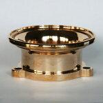 ゾンオリジナルS&SEキャブ用ベロシティースタック/ファンネル/真鍮/ブラス