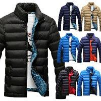【送料無料】全7色 ダウンジャケット メンズ 軽量 中綿ジャケット防寒 冬物 冬服 メンズ アウター 2L 3L 4L ダウン 大きいサイズ ダウンジャケット キッズ 男の子 黒 激安 プレゼント メンズ