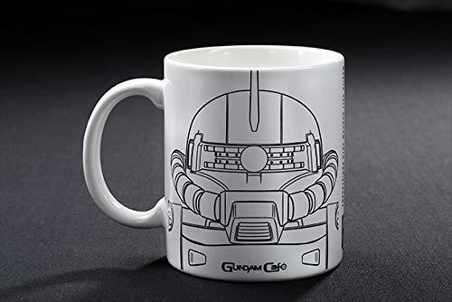 ガンダムカフェ限定 フェイスマグ マグカップ BEYOND シャア専用ザク&G-セルフ 機動戦士ガンダム Gのレコンギスタ画像
