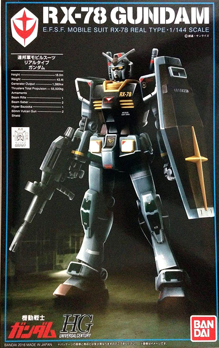 プラモデル・模型, ロボット HGUC 1144 RX-78-2 (21st CENTURY REAL TYPE Ver.)