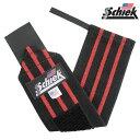 Schiek シーク リストラップ 24インチ ブラック フリーウェイトトレーニング用 2本組