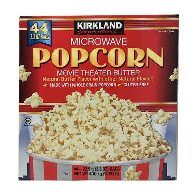 スナック菓子, ポップコーン  44 Kirkland Microwave Popcorn