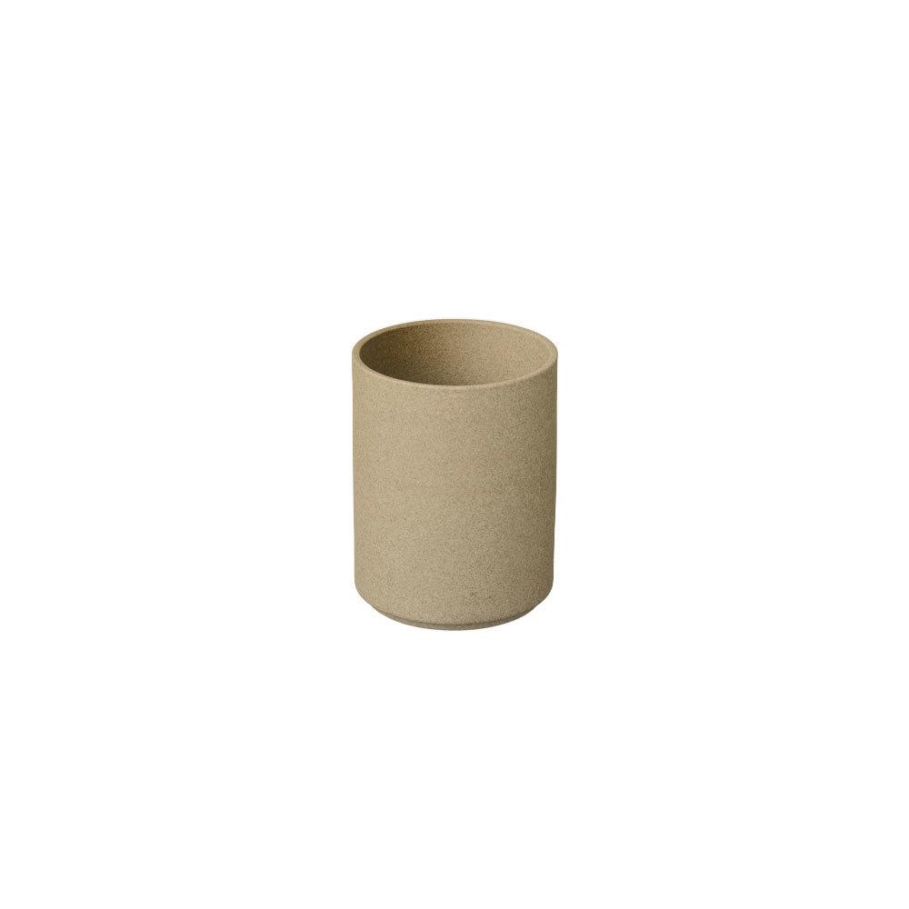 Hasami Porcelain ハサミポーセリン HP044 Planter 85 mm Natural 波佐見焼 茶 磁器 タンブラー ギフト プレゼント