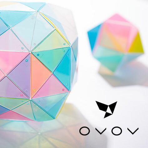 NHKまちかど情報室OVOVオブオブ56ピース知育パズル知育玩具立体パズル脳トレプレゼントギフトアクリルプラスチック樹脂オブジェSTAYHOME