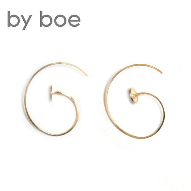 ≪by boe≫ バイ・ボーカーブ ピアス Earrings (Gold)【レディース】 ワンマイルコーデ