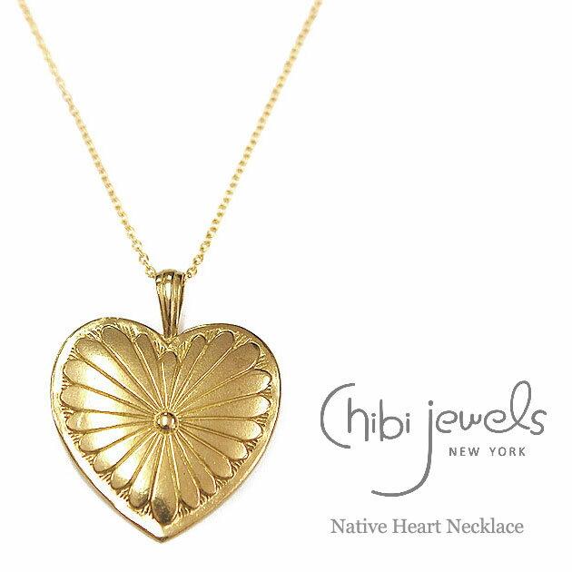 レディースジュエリー・アクセサリー, ネックレス・ペンダント CanCam GLITTER chibi jewels Big Heart Necklaces (Gold)