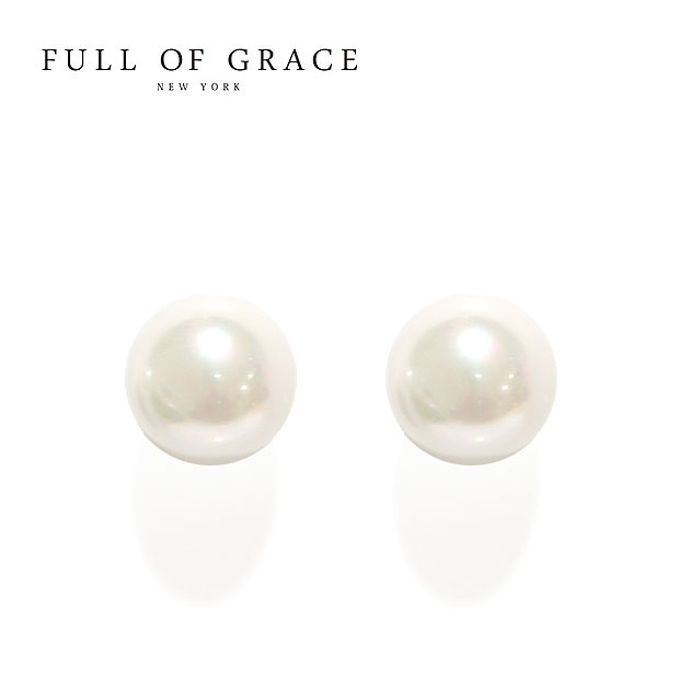レディースジュエリー・アクセサリー, ピアス VERY STORY CLASSY FULL OF GRACE Medium Pearl Earrings (Gold)