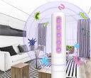 LED紫外線消毒灯 ポータブル便利 殺菌効果/ダニを落とす