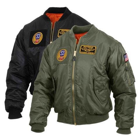 トップガン ミリタリー ma1 フライトジャケット ロスコ ボンバー ROTHCO ULTRA FORCE MA-1 FLIGHT JACKET