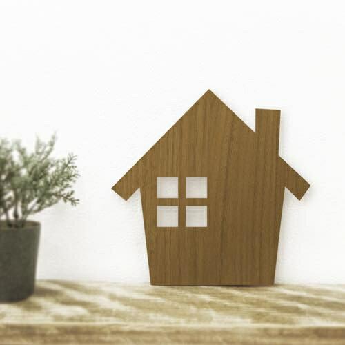 WOODY WALL LIGHT HOUSE(1コ入)の写真
