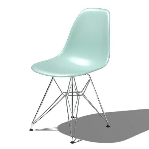 HermanMiller ハーマンミラー  Eames Shell Chair / Side Chair  DSR アクアスカイ  P01 flash