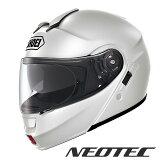 ショウエイ NEOTEC(ネオテック) ルミナスホワイト/L (59cm) S60092