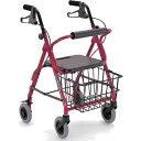 四輪歩行器KW20 フレーム色:レッド