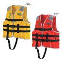 (国土交通省型式承認ライフジャケット 小型船舶小児用救命胴衣 Jr-1M型 Mイエロー)