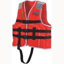 国土交通省型式承認ライフジャケット 小型船舶小児用救命胴衣 Jr-1M型 Mレッド