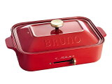 BRUNO コンパクトホットプレート BOE021-RD レッド
