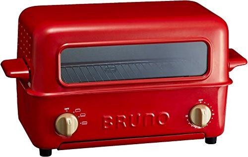 イデアインターナショナル BRUNO トースターグリル BOE033-RDの写真
