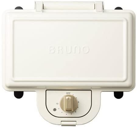 BRUNO ホットサンドメーカー ダブル BOE044-WHの写真
