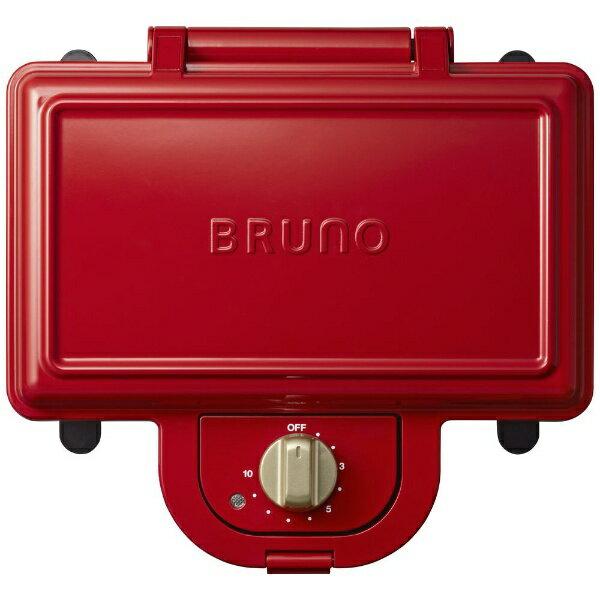 BRUNO ホットサンドメーカー ダブル BOE044-RDの写真