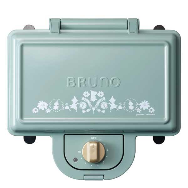 BRUNO ホットサンドメーカー ダブル BOE051-BGRの写真