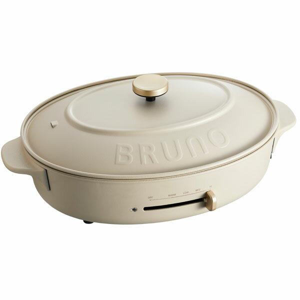 BRUNO crassy+ オーバルホットプレート BOE053-GRGの写真
