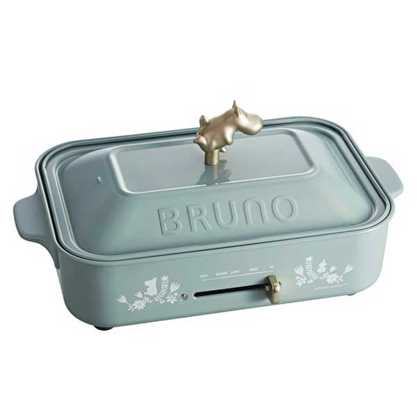bruno ムーミン コンパクトホットプレートの写真