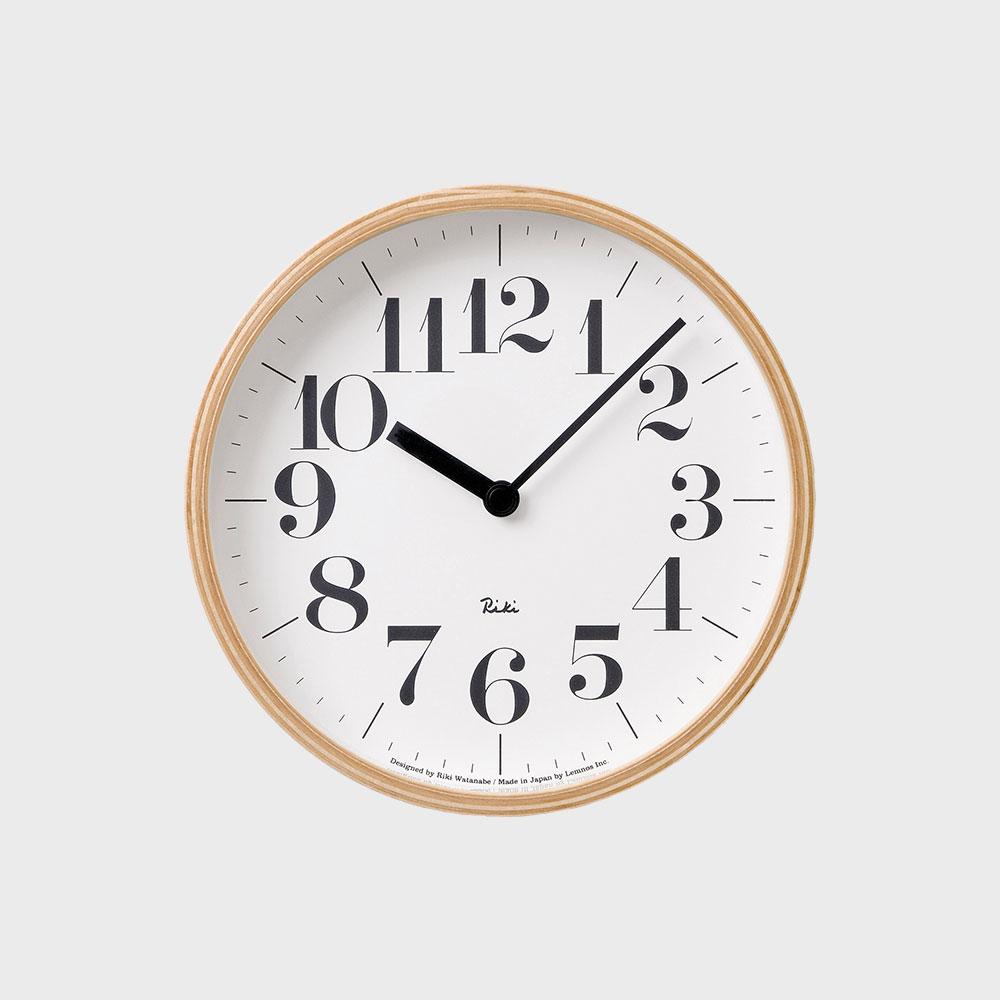 タカタレムノス Lemnos リキ クロック S 壁掛時計 WR-0401の写真