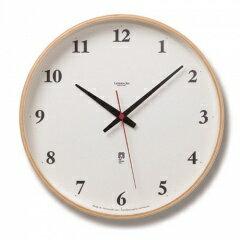 タカタレムノス Lemnos plywood clock LC05-01W 電波時計 ナチュラル LC05-01W NTの写真