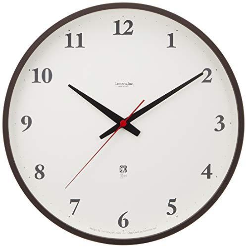 タカタレムノス Lemnos plywood clock LC05-01W 電波時計 ブラウン LC05-01W BWの写真