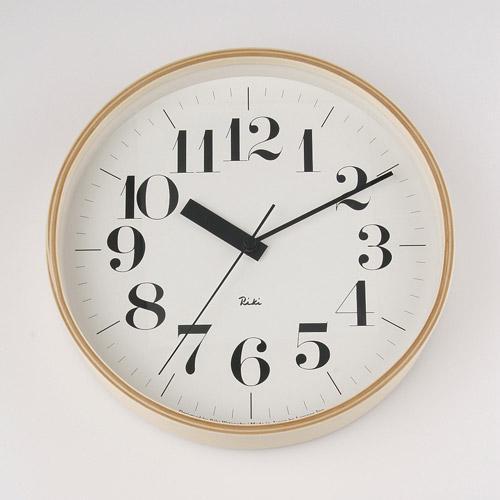 タカタレムノス Lemnos リキクロック 電波時計 WR07-11の写真