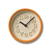 タカタレムノス Lemnos 小さな時計 オレンジ WR07-15 OR