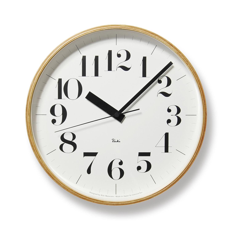 タカタレムノス Lemnos リキクロック L 電波時計 WR08-27