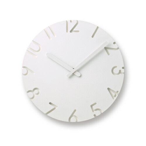 (Lemnos(タカタレムノス)) CARVED Arabic 壁掛時計 NTL10-04A カーヴド アラビック 掛け時計寺田 尚樹