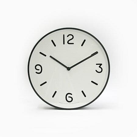 Lemnos MONO Clock ホワイト LC10-20A WHの写真